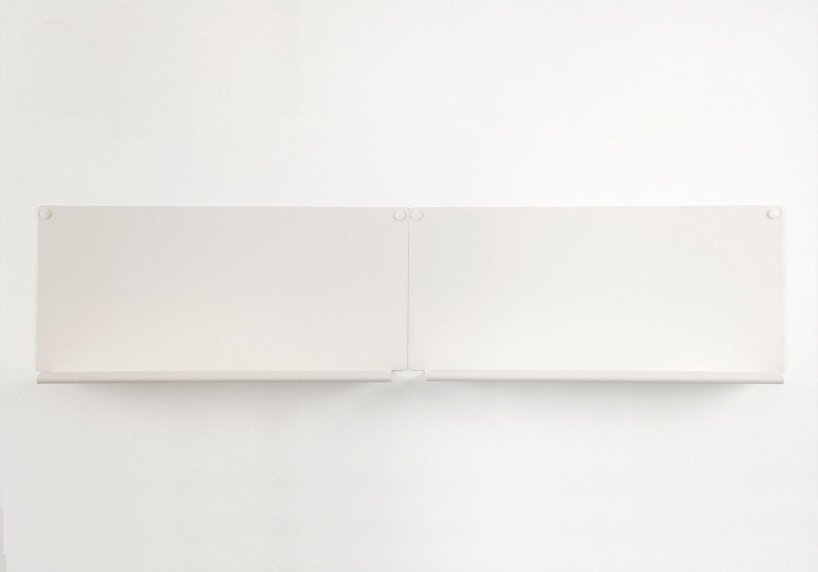 Tag re cadres photo le lot de 2 45x10 cm blanc - Etagere pour cadre photo ...