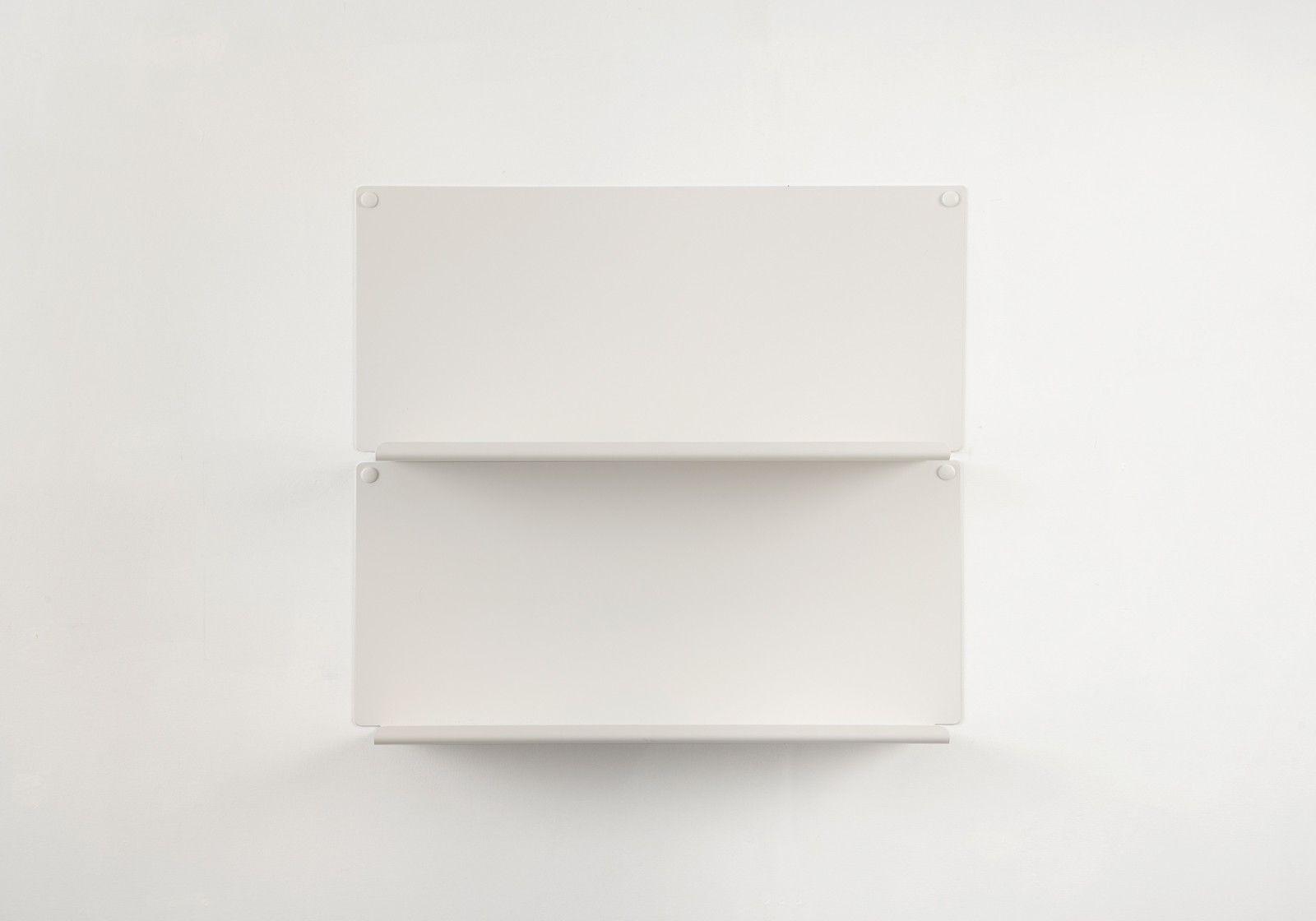 tag re cadres photo le lot de 2 45x10 cm blanc. Black Bedroom Furniture Sets. Home Design Ideas
