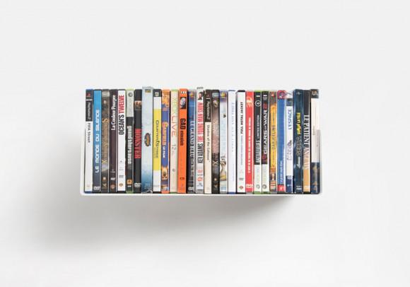 Étagère range DVD USDVD - 45 cm
