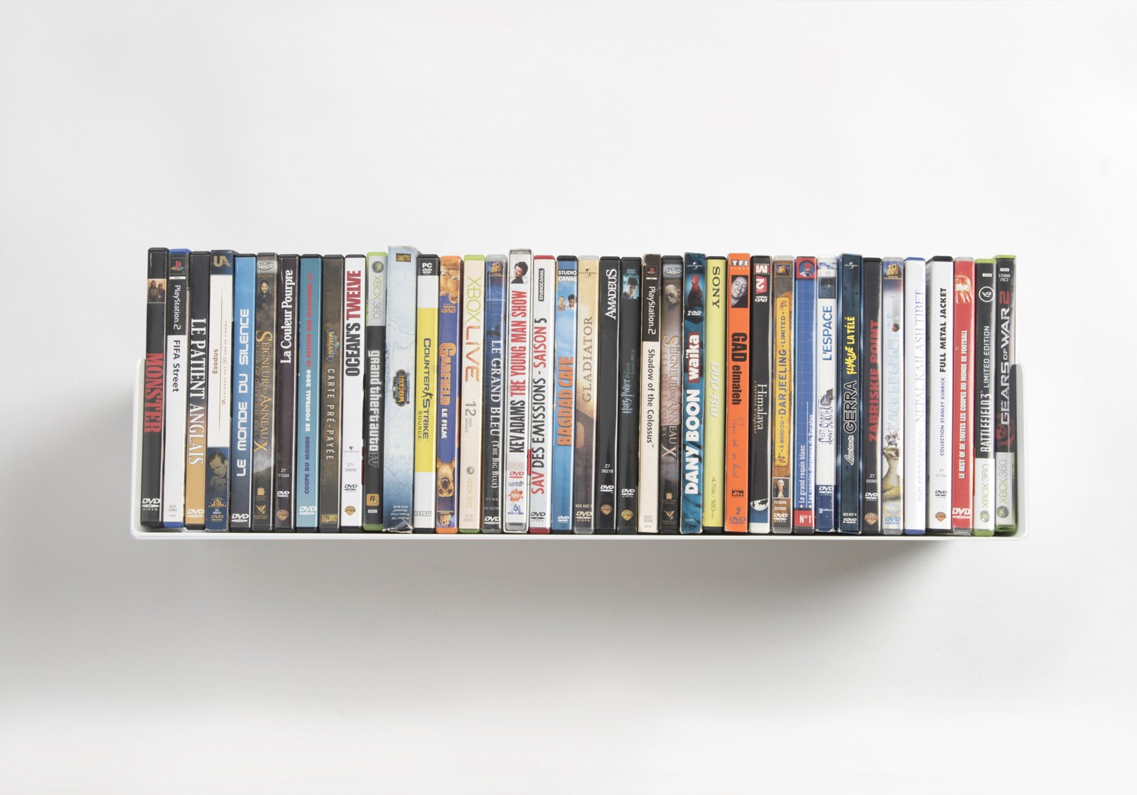 Dvd shelves dvd shelving unit by teebooks teebooks dvd wall shelf udvd 60  cm amipublicfo Image