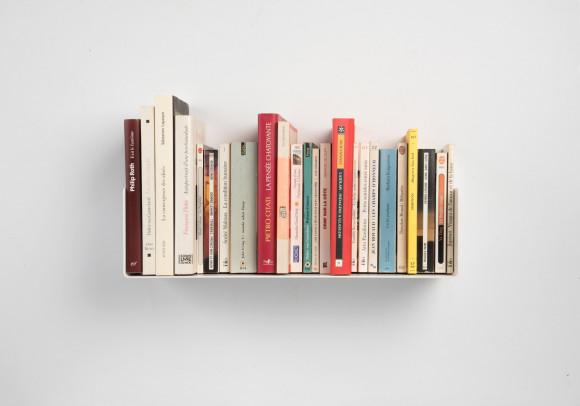 """Mensola per libri """"US"""" - 45 cm - Acciaio"""