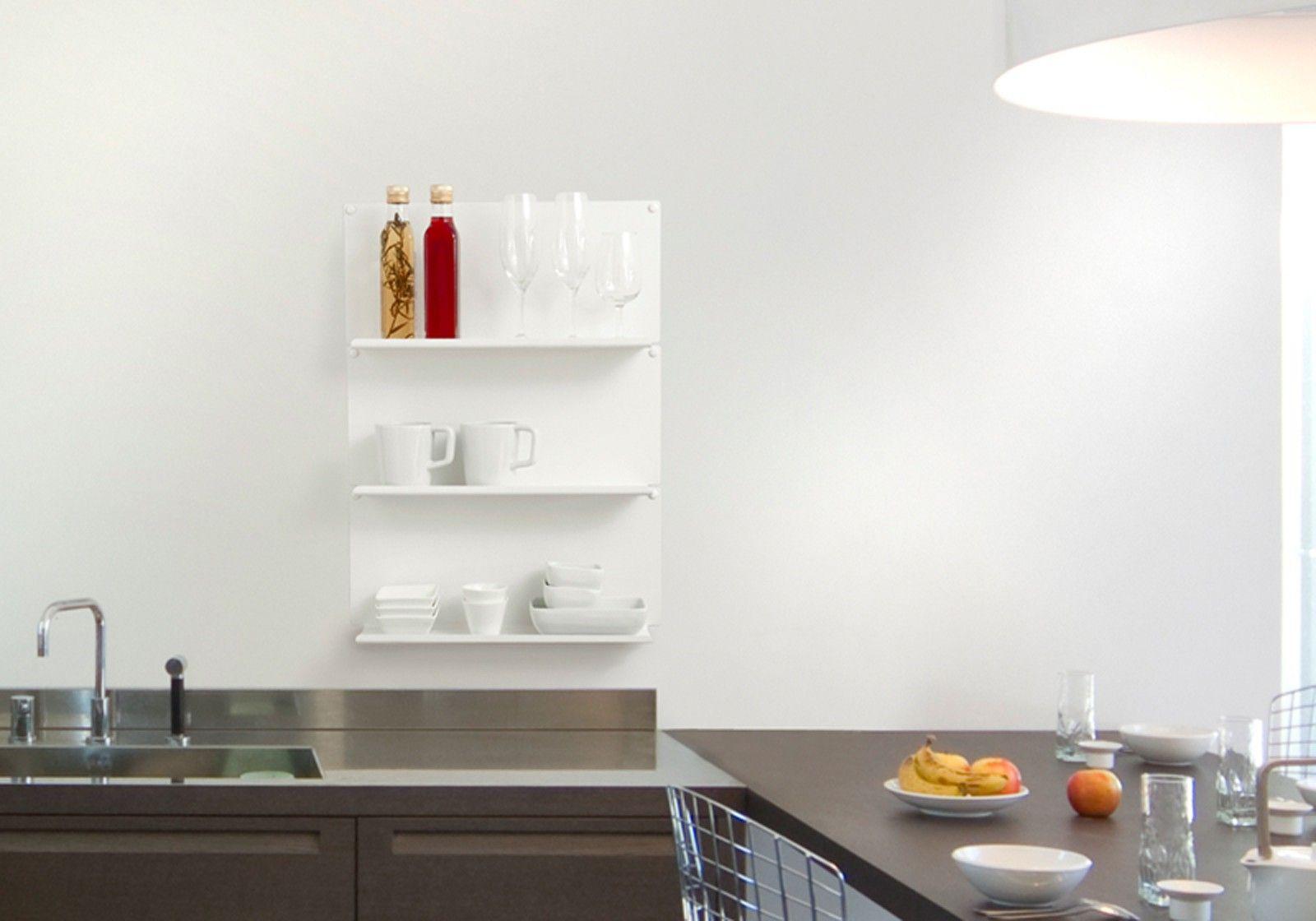Mensola per cucina le set di 2 acciao - Mensole per cucina moderna ...