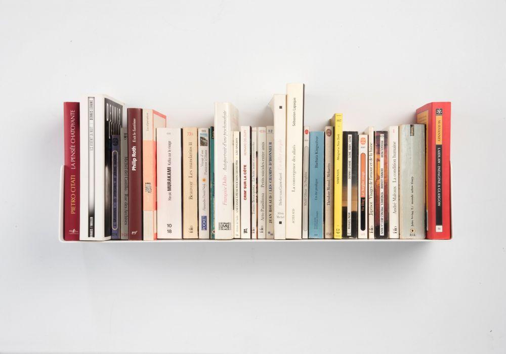 Étagère pour livre   60 x 15 cm   Acier