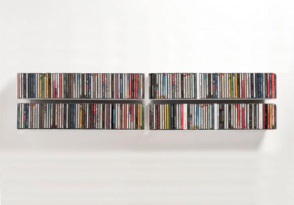 Set di 4 UCD - Mensole porta CD