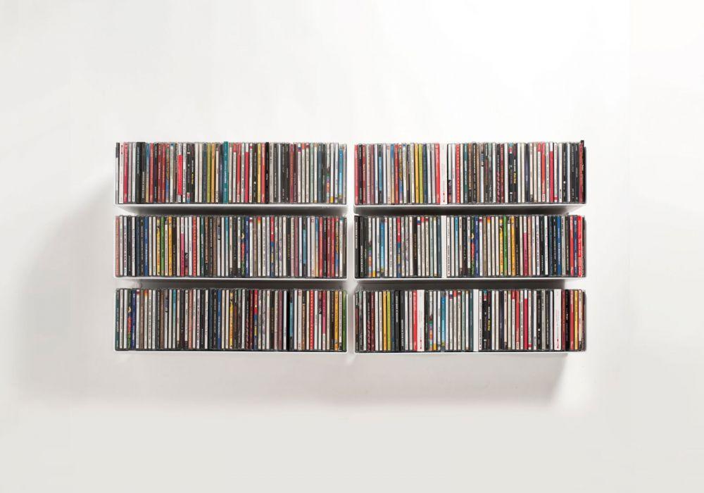Set di 6 USCD - Mensole porta CD