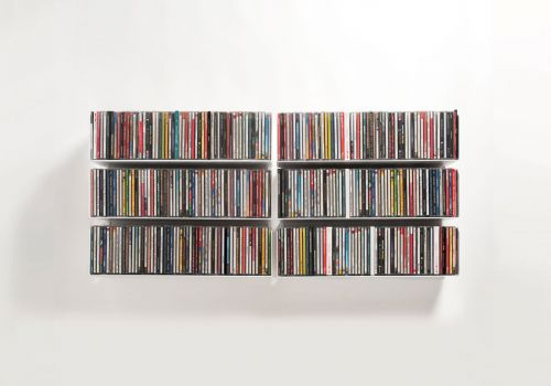 Set mit 6 USCD - CD-Regalen