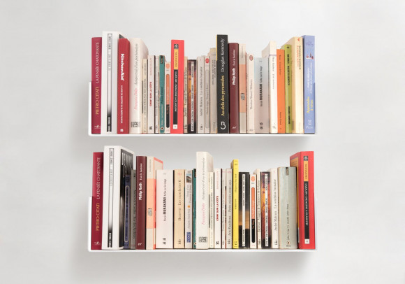 Wall Bookshelves 45 x 15 cm - Set of 2