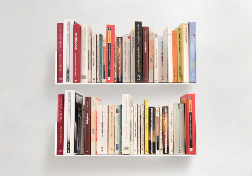 """Set of 2 Bookshelves """"US"""""""