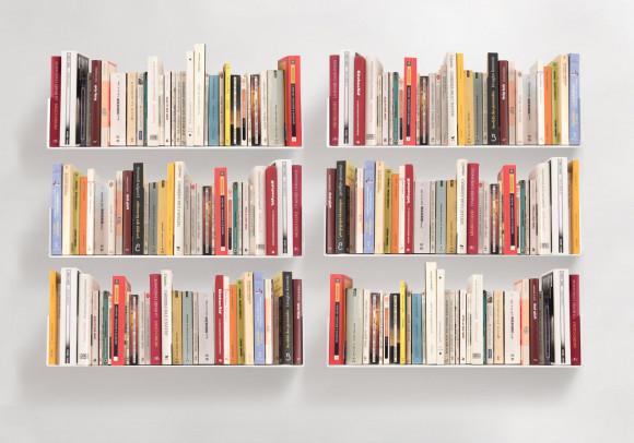 """Satz von 6 Bücherregale """"U"""""""