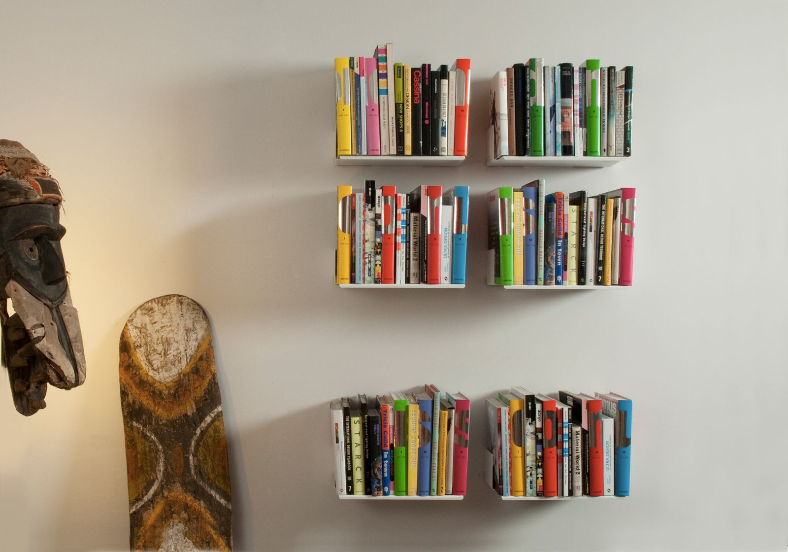 "Set of 6 Bookshelves design ""UBD"""