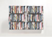 Set di 6 USDVD - Mensole porta DVD