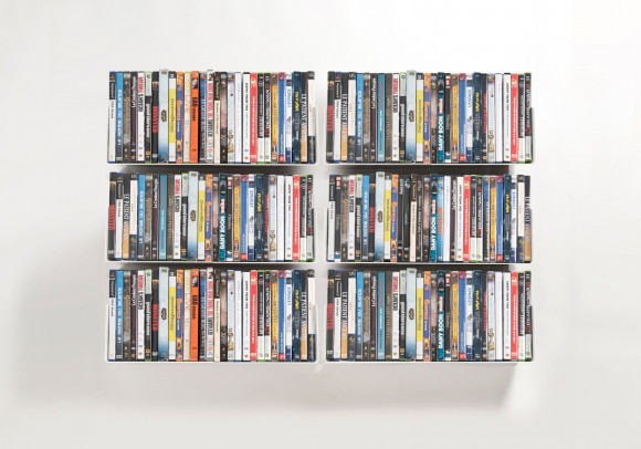 DVD shelves - Set of 6 USDVD