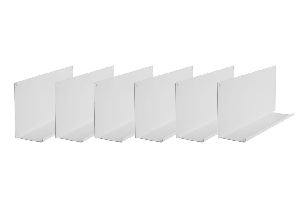 """Mensole per cornici e quadri """"le""""   set di 6   teebooks"""