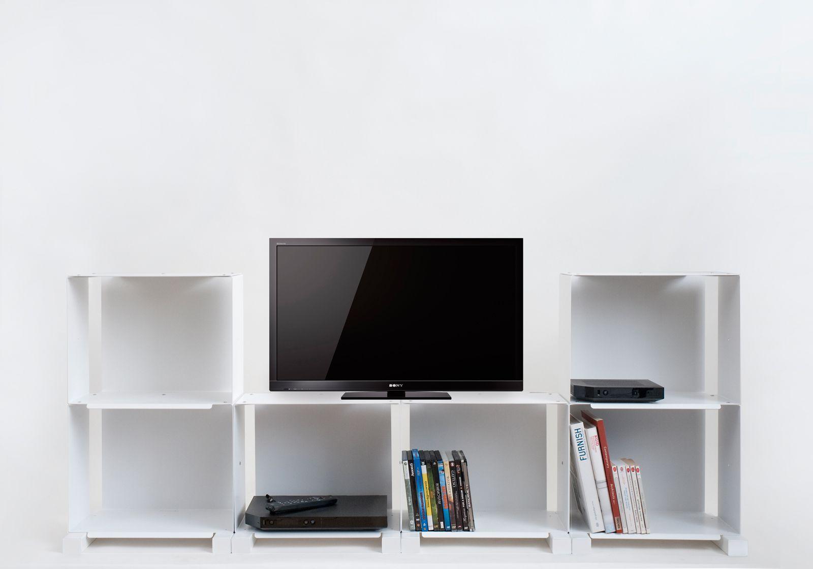 meuble t l design 6c meuble de salon teebooks. Black Bedroom Furniture Sets. Home Design Ideas
