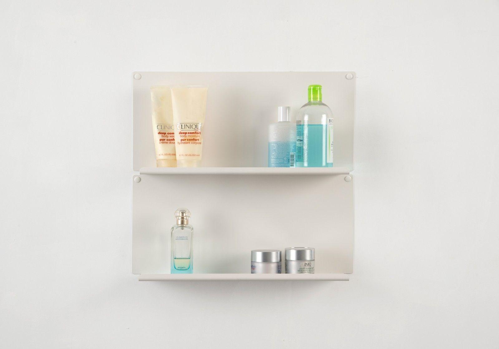 """Estantes de pared para cuarto de baño """"LE"""" - Juego de 2  V"""