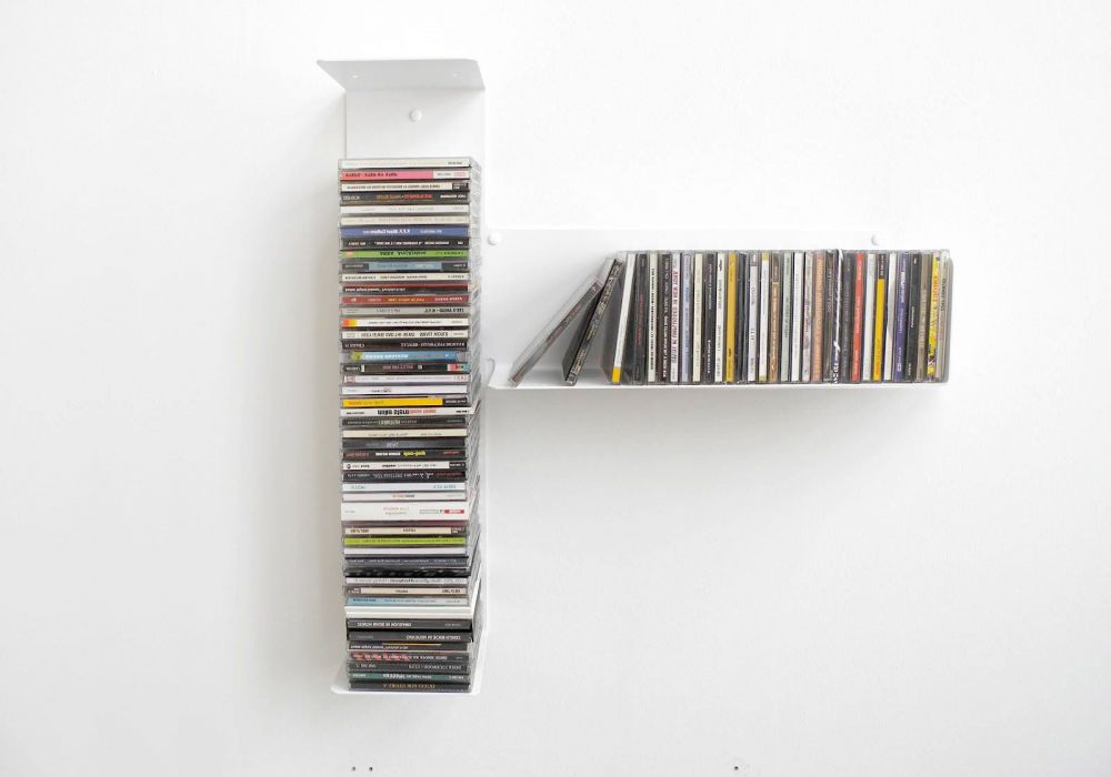 "Asymmetrical CD shelf ""T"" RIGHT"