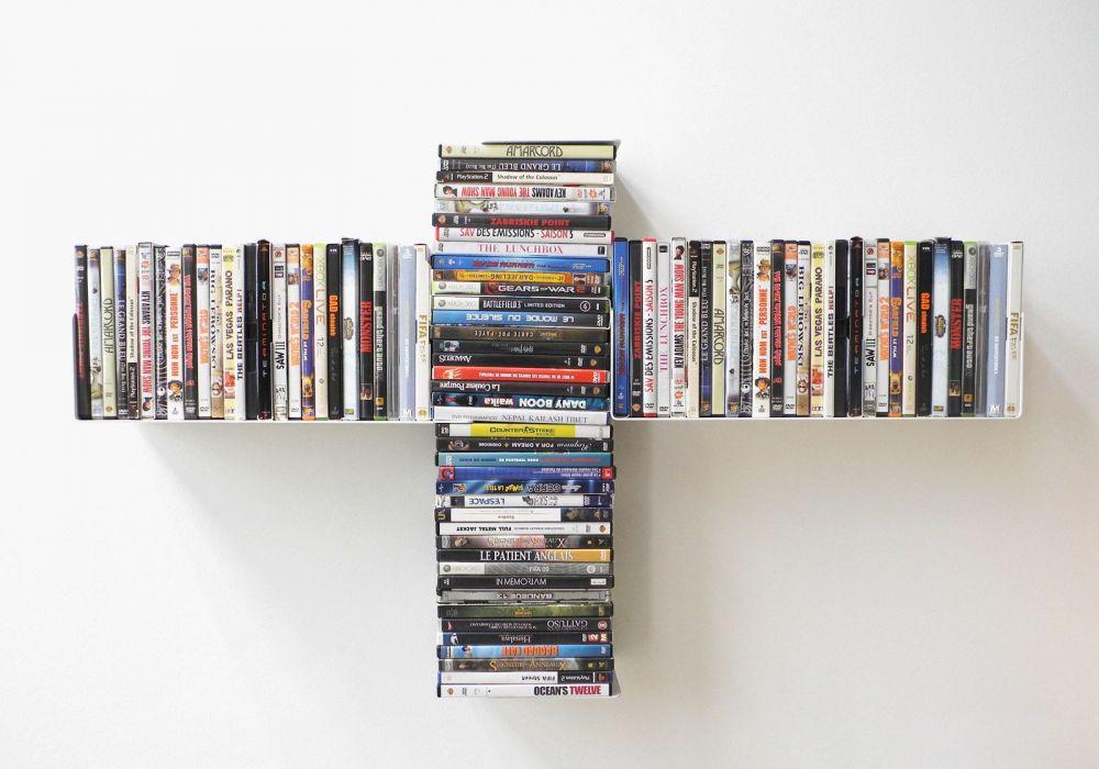 "Estante para DVD  ""TUS"""