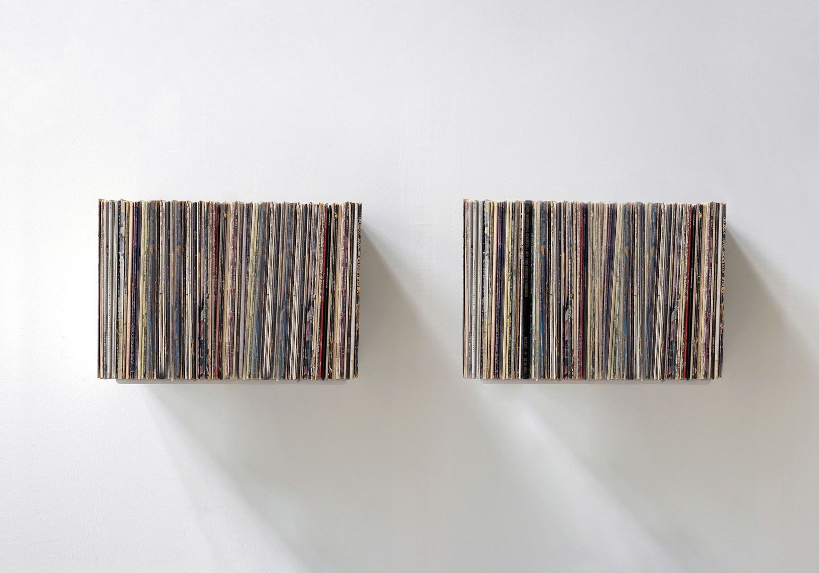 Quot Ubd Quot Record Storage Shelf Set Of 2