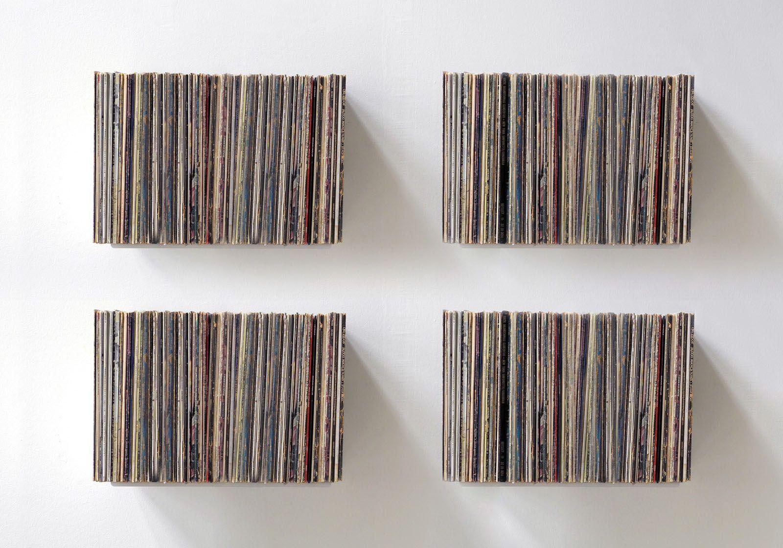 """UBD"" Record Storage Shelf  - Set of 4"