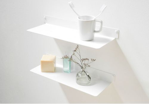 Bathroom shelves TEEline 4515 - Set of 2