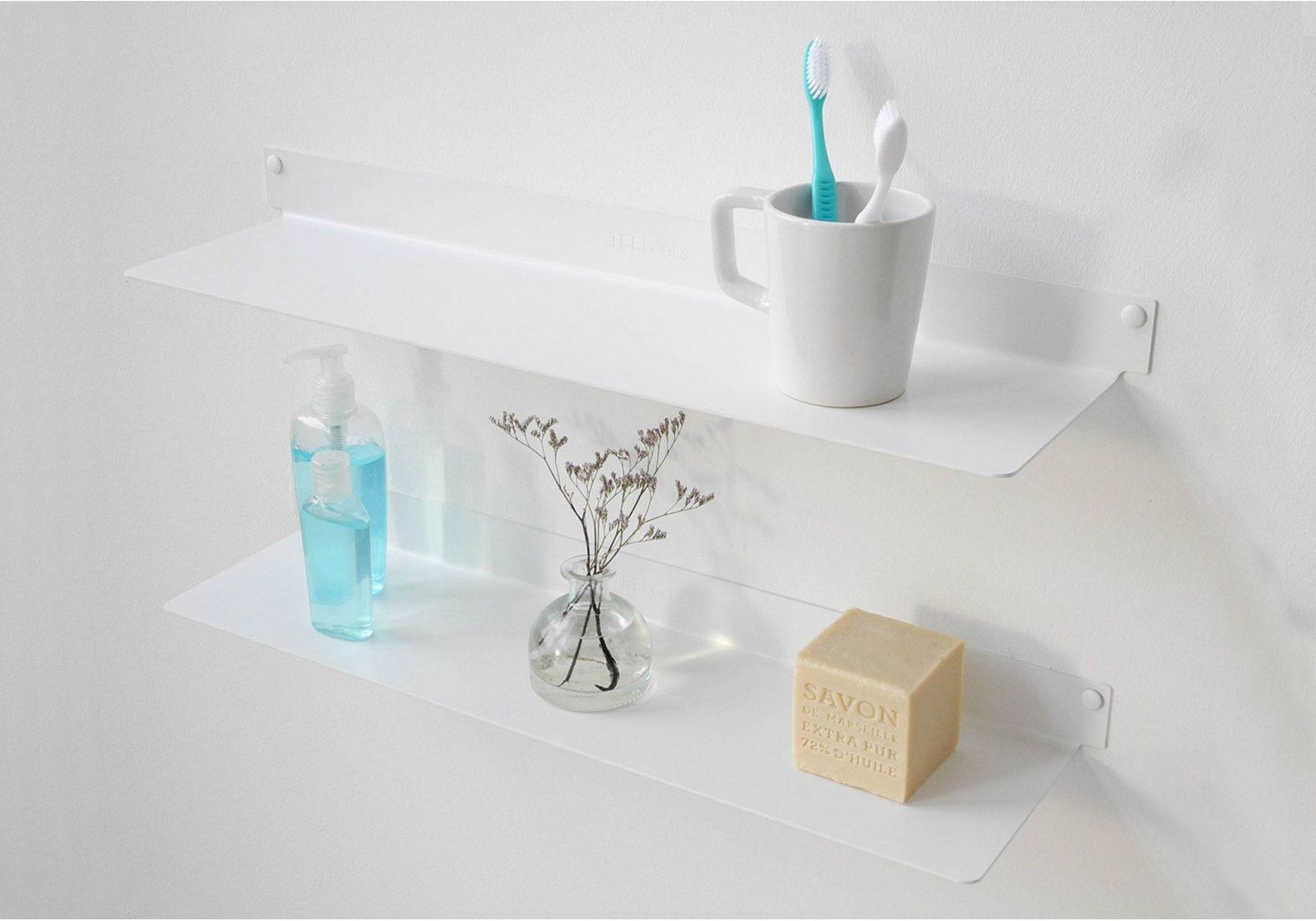 tag re murale salle de bain teeline 60 cm lot de 2. Black Bedroom Furniture Sets. Home Design Ideas