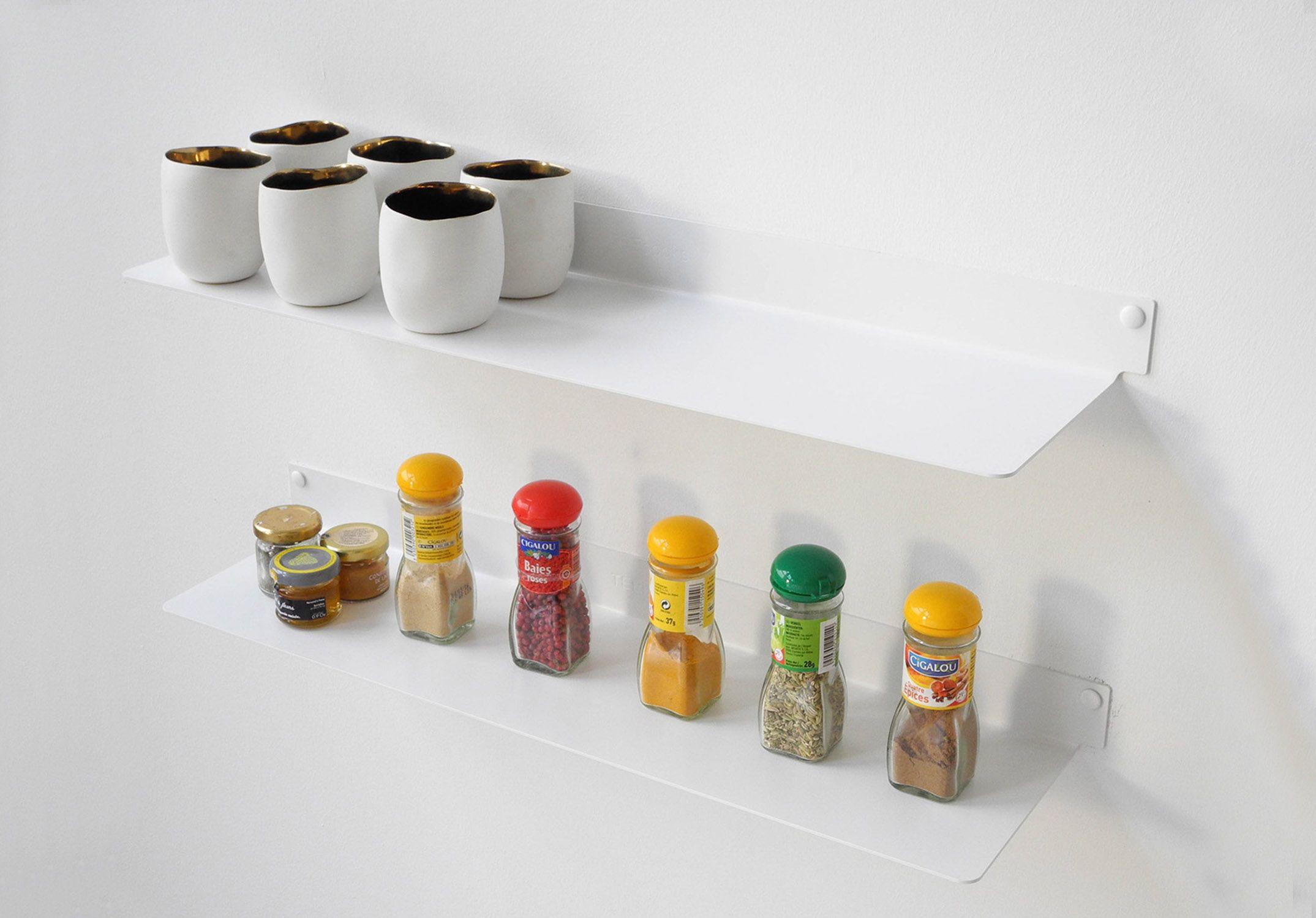 Küchenregal | Küchen Wandregal Design | Teebooks - TEEbooks | {Küchenregale 78}