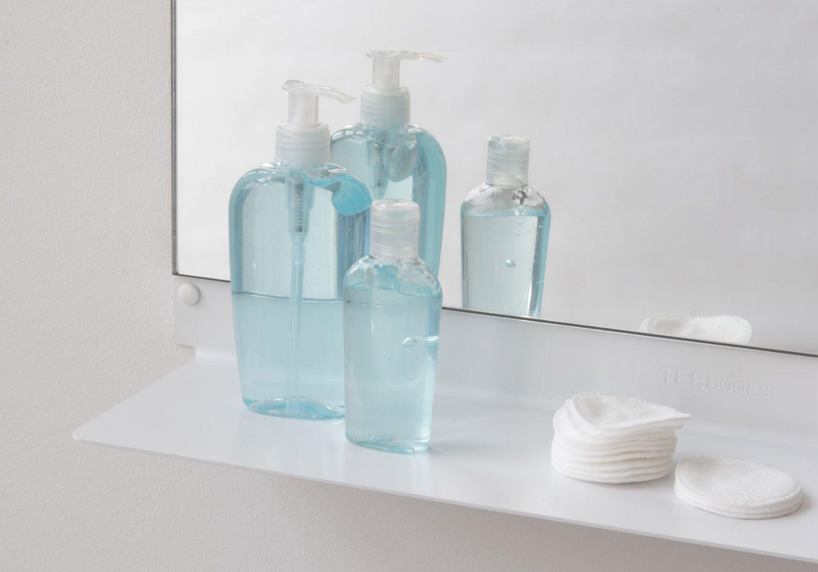Floating Bathroom shelves TEEline 6015 - Set of 4 - TEEbooks