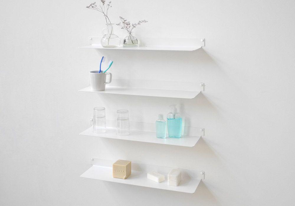 Floating Bathroom Shelves Teeline Set Of 4 Teebooks