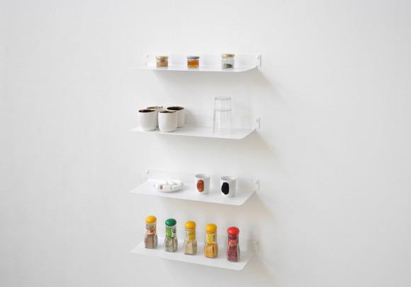 Küchenregal 45 cm - Set mit 4