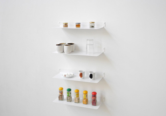 Mensole per cucina TEEline 45 cm - Set di 4 - Acciao