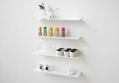 Floating shelves for kitchen TEEline 6015 - Set of 4