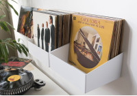 """TEEnyle"" Record Storage Shelf - Set of 2"