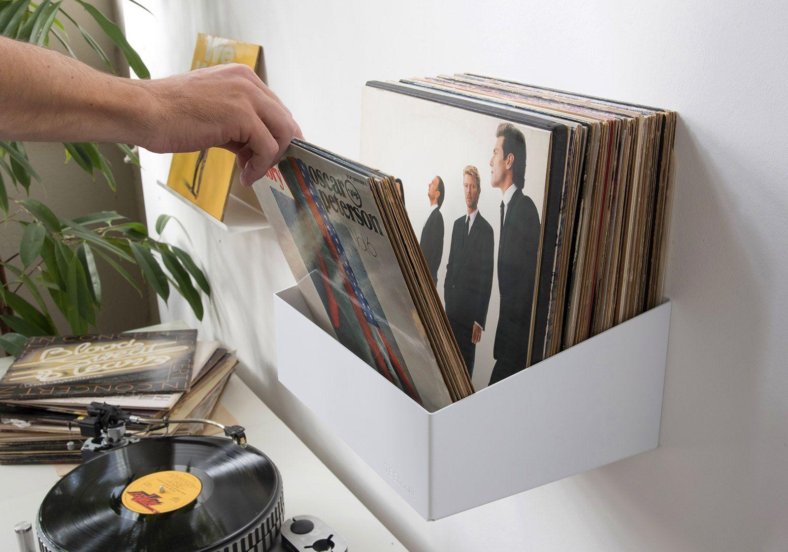 étagère De Rangement Pour Vinyles
