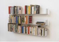 "Set of 6 Wall-mounted Bookshelves ""U"""