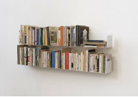 "Set of 4 Wall-mounted Bookshelves ""U"""