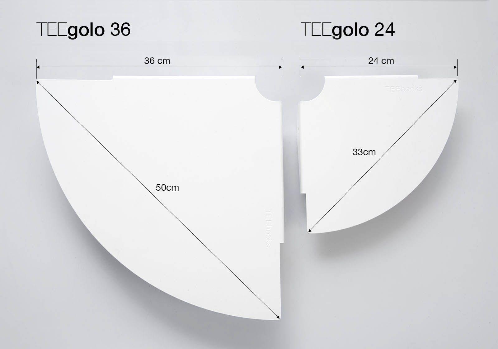 Achetez Etagere Angle Pour Salle De Bain Teegolo 24 Cm