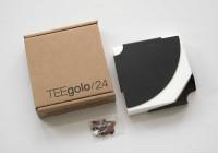 Étagère d'angle TEEgolo 24cm - lot de 2