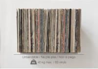 "Schallplattenregal ""UBD"" - Set aus 2 Regalen"