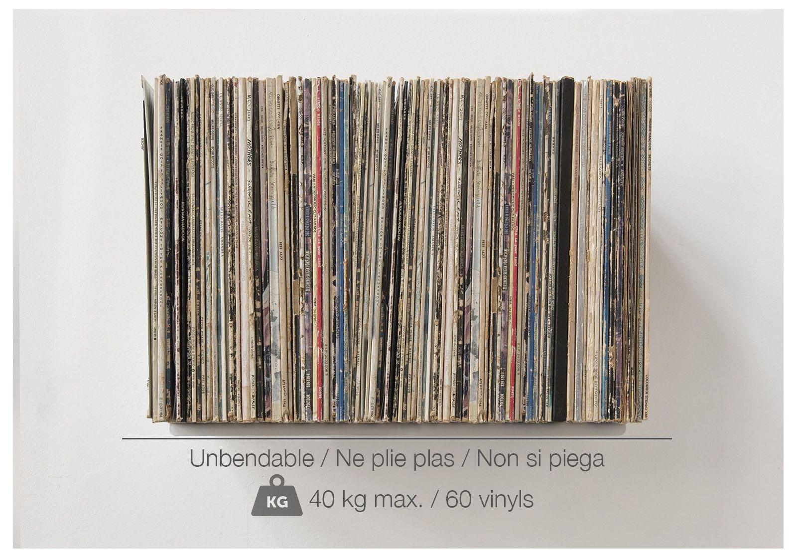 Scaffale porta vinili ubd set di 4 contiene 240 - Scaffali porta cd ...