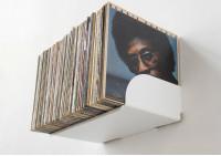 "Schallplattenregal ""UBD"" - Set aus 4 Regalen"