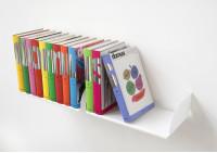 """Mensole per libri """"UBD"""" - Set di 2 - 45 cm - Acciao"""