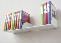 """Bücherregale """"UBD"""" - Satz von 4 Regalen - 45 cm -Kapazität von 40 kg"""