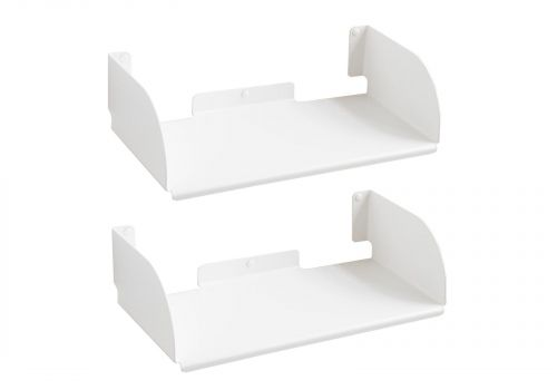 "Modulares Regalsystem ""UBD"" - Satz vons 2 Regalen - 45 cm - Stahl"
