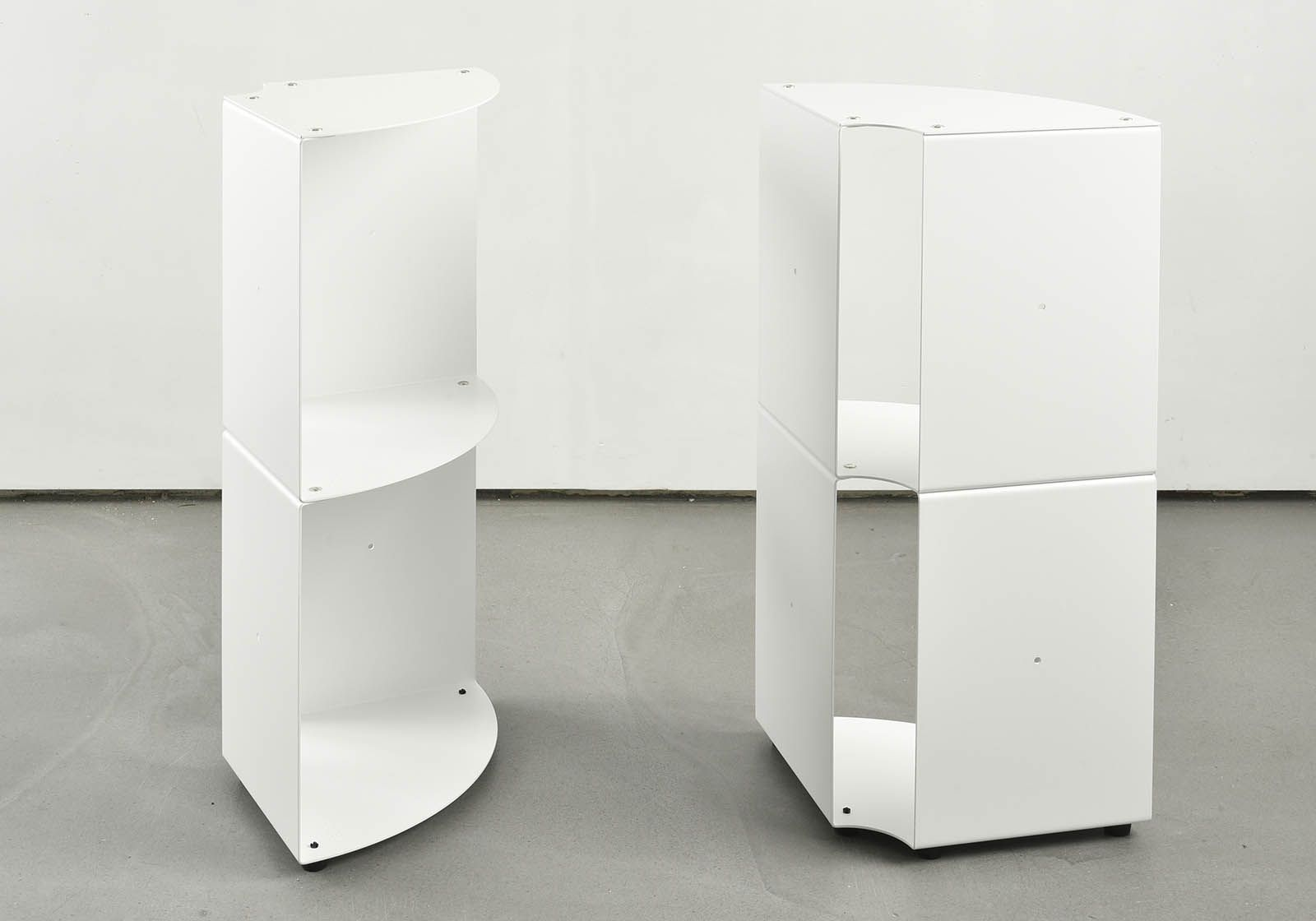 etag re d 39 angle salle de bain dangolo m tal 25x25x70cm. Black Bedroom Furniture Sets. Home Design Ideas