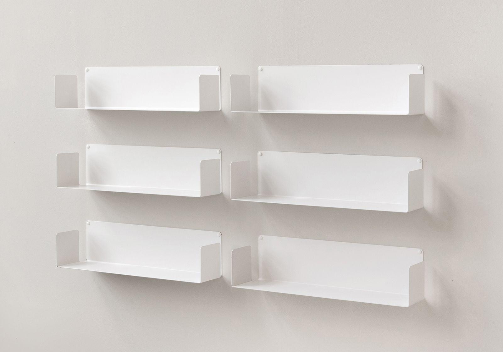 vente tag re range cd lot de 6 60 cm acier. Black Bedroom Furniture Sets. Home Design Ideas