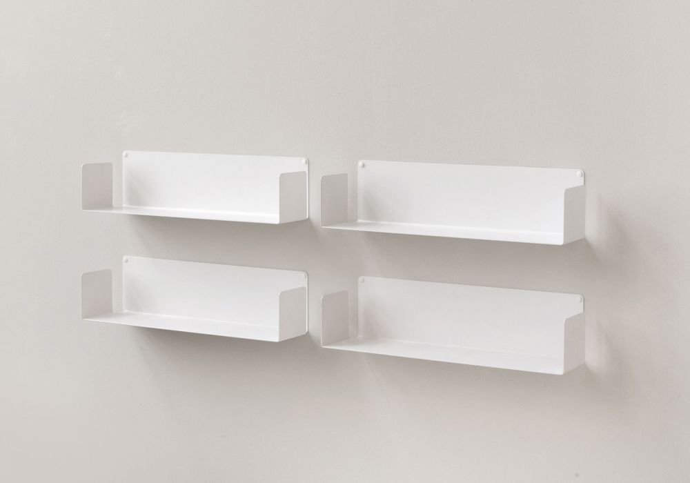 "Floating shelves  ""U"" - 60 cm - Set of 4"