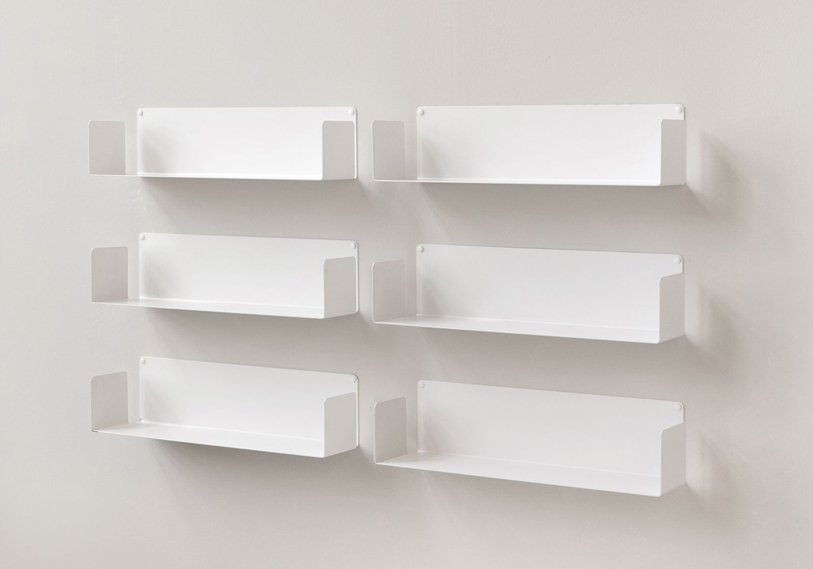 floating shelves u set of 6