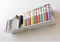 "Floating shelves ""UBD"" - Set of 2 - 60 cm"