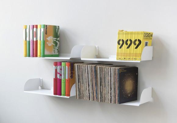 "Wall bookshelves ""UBD"" - Set of 4 - 23 inch"
