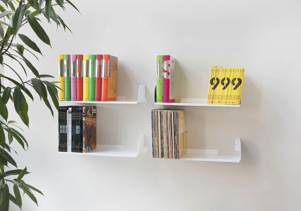 Estantes para libros ubd juego de 4 60 cm Librerias de pared
